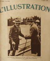Lord Baden-Powell, Fondateur Du Scoutisme, Recu Par Le Prince Gustave-Adolphe Près De Stockholm - Page Original 1935 - Historical Documents