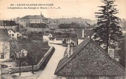Besançon Saint Claude Sourds Et Muets CLB 205 - Besancon
