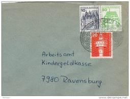 28556. Carta WEINGARTEN  WURTT (Alemania Federal) 1983. Jumelage - [7] República Federal
