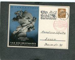 Deutsches Reich Postkarte 1938  Tag Der Briefmarke - Alemania
