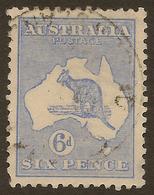 AUSTRALIA 1915 6d Roo SG 38 U #ALK234 - Usados