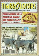 Magasine  100 Pages Timbroloisirs Thème Coupe Du Monde Des Timbres N: 83 De 1996 - Français (àpd. 1941)