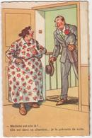 CPA - Carte Humour - Chaperon - Humor
