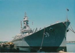 Massachsetts Fall River Battleship Massachusetts