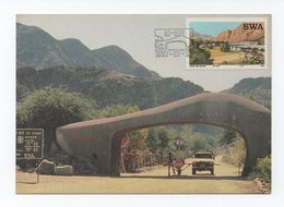 MAXIMUM CARD SWA Tourist Camps Year1987 SOUTH AFRICA SUID AFRIKA AFRIQUE DU SUD - Swaziland (1968-...)