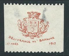 VIGNETTE PATRIOTIQUE DELANDRE - Bapaume - Propagande  WWI WW1 Cinderella Poster Stamp 1914 1918 - Erinnofilie