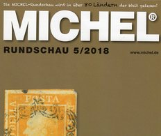 MICHEL Briefmarken Rundschau 5/2018 Neu 6€ Stamps Of The World Catalogue/magacine Of Germany ISBN 978-3-95402-600-5 - Magazines: Subscriptions
