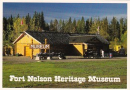 Canada British Columbia Fort Nelson Heritage Museum
