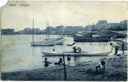 ANZIO  ROMA  Spiaggia  Le Barche  Giochi Di Bimbi - Roma