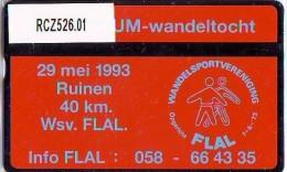 Telefoonkaart  LANDIS&GYR NEDERLAND * RCZ.526.01   249b * 4e Lustrumwandeltocht * TK * ONGEBRUIKT * MINT - Nederland