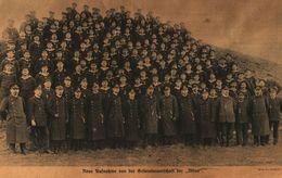Neue Aufnahme Von Der Gesamtmannschaft Der Möwe / Druck, Entnommen Aus Zeitschrift / 1916 - Books, Magazines, Comics