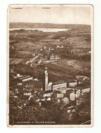 CT--02500-- PANORAMA DI VALDOBBIADENE ( TREVISO )VIAGGIATA  1935-FRANCOBOLLO ASPORTATO - Treviso