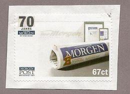 L13) Privatpost -  Morgenpost - 70 Jahre / Zeitung - Privatpost