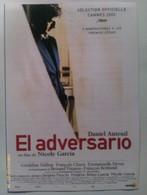 Folleto De Mano. Película El Adversario. Geraldine Pailhas. François Cluzet. Nicole Garcia. Nuevo. Reproducción Actual - Cinemania