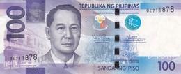 BILLETE DE FILIPINAS DE 100 PISO DEL AÑO 2014  (BANKNOTE) MAYON VOLCANO - Filipinas