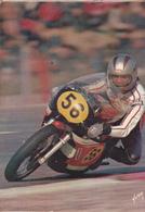 Rare Cpsm Moto De Course Années 70 - Motorcycle Sport