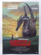 Folleto De Mano. Película Cuentos De Terramar. Goro Miyazaki. Nuevo. Reproducción Actual Autorizada Por Interfilms - Merchandising