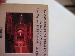 12 Diapositives La Cathédrale De Strasbourg Hansi éditions D'Alsace Lorraine - Diapositives