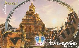 PASS--DISNEY-DISNEYLAND PARIS-2002-INDIANA JONES-V°NARBONI 00/09/TEM-TBE - Pasaportes Disney