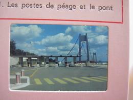 6 Diapositives LE PONT DE TANCARVILLE 76 - Diapositives