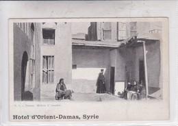 DAMAS. MAISON D'ANANIAS. EDIT B ASFAR. HOTEL D'ORIENT DAMAS, SYRIE.-BLEUP - Syrië