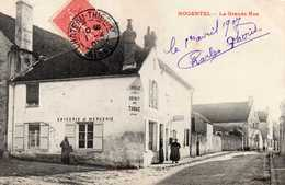 NOGENTEL - La Grande Rue - Tabac Mousse-Roze, Animée - France