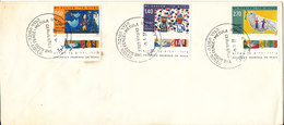 Israel Cover With Special Postmark The Good Fence Metula 9-5-1977 - Israël