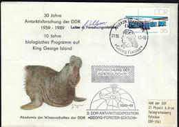 Germany Antarktis Station 1990 / Antarktisforschung Der DDR / Georg Forster Station - Research Stations