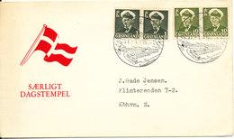 Greenland Cover Sent To Denmark Sdr. Strömfjord 31-1-1961 - Greenland