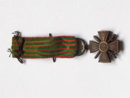 Décoration Médaille - CROIX DE GUERRE 1914-1918 - Rappel    ***** EN ACHAT IMMEDIAT **** - Frankrijk