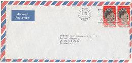 Nigeria Air Mail Cover Sent To Denmark - Nigeria (1961-...)