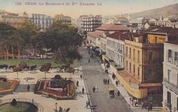 ORAN. LE BOULEVARD DU 2me ZOUAVES. L, LEVY & NEURDEINS REUNIS. ALGERIA.-BLEUP - Oran