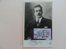 CARTE MAXIMUM CARD GIACOMO PUCCINI MONACO Sur CPA - Musique