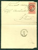 Austria Empire 1906 Bosnia Stationery Militer Post Bjelina Donja Tuzla - 1850-1918 Empire