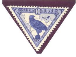 Islande: Yvert N° A 3**; MNH: Oiseau; Bird; Faucon; Cote 50.00€ - Poste Aérienne