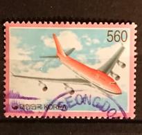 Corée Du Sud -  1995 YT 1026 Avion Aircraft Oblitéré - Corée Du Sud