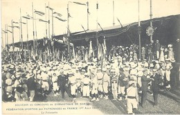 Souvenir Du Concours De Gymnastique De Nantes (1er Août 1909) - Nantes