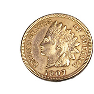 1 Cent - USA - 1907 - Cuivre - TTB - - EDICIONES FEDERALES