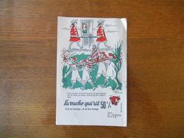 LA VACHE QUI RIT 50% SERIE LES TRANSPORTS BUVARD N° 8 HERVE BAILLE - Buvards, Protège-cahiers Illustrés