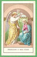 ANNUNCIAZIONE DI MARIA VERGINE - Mm. 70 X 111 - E - PR - CROMOLITO - Religione & Esoterismo
