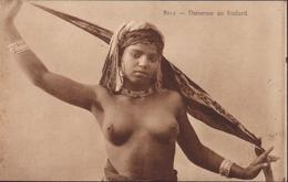 CPA 8012 Danseuse Au Foulard Jeune Fille Femme Seins Nus Nu Ethnique Impr ADIA A.D.I.A. Nice - Afrique Du Nord (Maghreb)