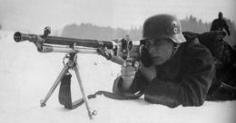 Waffen SS MG30(t) Neutralisé Destruct Wehrmacht - Armes Neutralisées