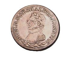1/2 Penny - Angleterre - Token - Cuivre -  TB+ - - 1662-1816 : Acuñaciones Antiguas Fin XVII° - Inicio XIX° S.