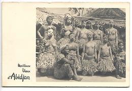 COTE D'IVOIRE - ABIDJAN - Danseuses De La Cote D'Ivoire - Meilleurs Voeux - Côte-d'Ivoire
