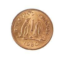 1 Ct. - Falkland - Islande - 1980 - Bronze - Sup - - Falkland