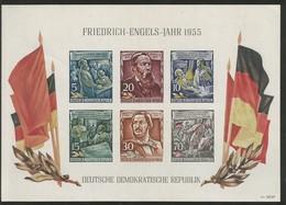 DDR Deutschland East Germany GDR - Souvenir Sheet Mi.Block 13 MNH / ** 1955 Mi: 75€ - Bloques