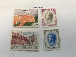 Monaco Definitive Mnh 1971 - Monaco