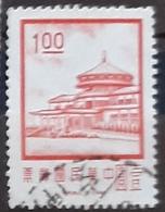 TAIWÁN 1971 Chungshan Building, Yangmingshan. USADO - USED. - 1945-... Republik China