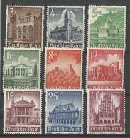 Deutsches Reich Deutschland Germany Mi.751/59 Complete Set MNH / ** / Postfrisch - 1940 - Nuevos