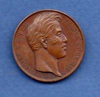 Charles X  --  Médaille Ville De Verdun  -  état  SUP - Royaux / De Noblesse